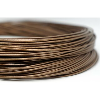 1,5mm Antilopenlederband, bronze, rund