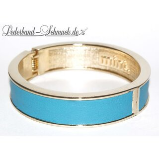 mint Schmuck - Celebrity Bangle Armreif Gold Aqua Blue